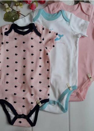 Бодики,  набор бодиков,  бодики-футболки, бодики с коротким рукавом