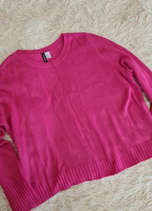 Яркий женский свитер h&m