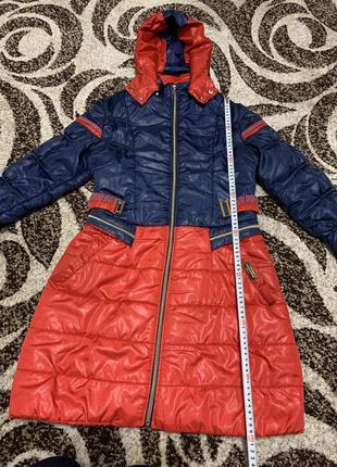 Пальто ,пуховик ,длинная куртка ,куртка с капюшоном,демисезонная куртка