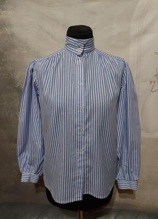 Блуза рубашка в винтажном стиле