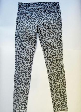 Леопардовые джинсы штаны vero moda vero moda
