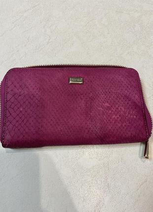 Кожаный кошелёк, портмоне coccinelle