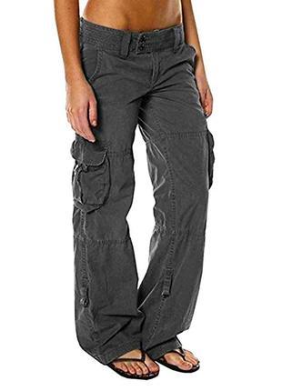 Новые коричневые штаны,брюки,карго