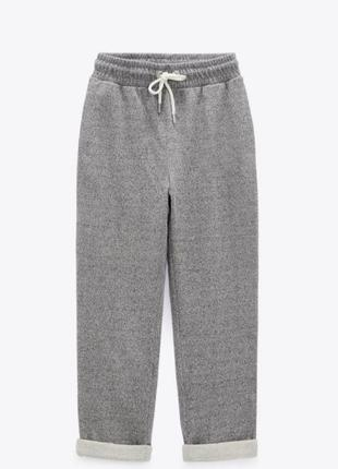 Спортивные штаны серого цвета