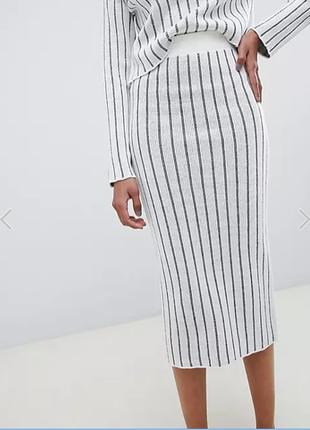 Трикотажная юбка asos, размер 8