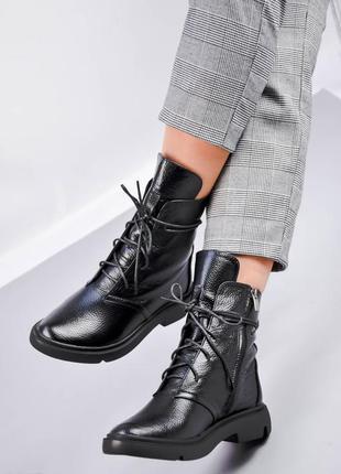 Женские ботинки, ботинки демисезонные, ботинки деми, ботиночки женские, ботинки кожаные