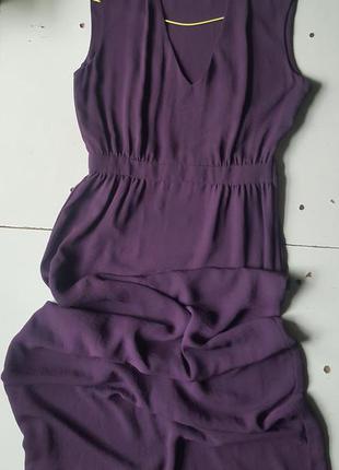 Платье длинное сарафан в пол макси h&m