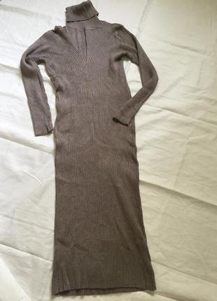 Женское теплое платье, трикотажное mc lorene