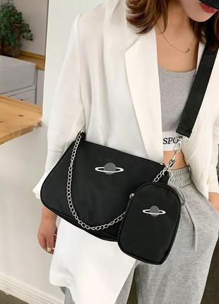 Нейлоновая сумка марс женская