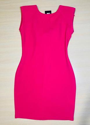 Розовое яркое платье ax paris