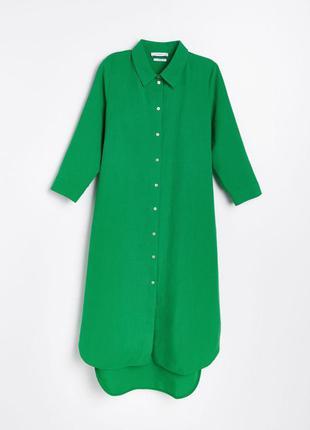 Новое платье рубашка лен