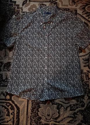 Фірмова англійська бавовняна рубашка сорочка easy, нова,розмір xl-xxl.