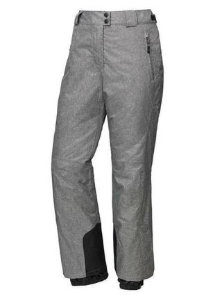 🔥скидки -  15% 🔥 серые лыжные штаны crivit