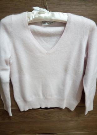 Кашемировый свитер реглан
