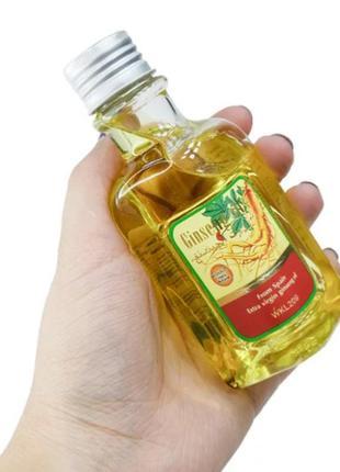 Масло для волос и тела wokali extra virgin ginseng oil с маслом женьшеня wkl209 120 мл