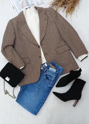 Теплый пиджак пальто