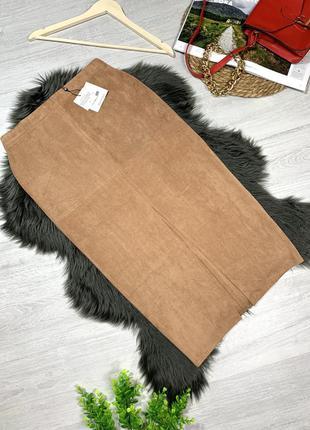 Мягкая облегающая юбочка с биркой