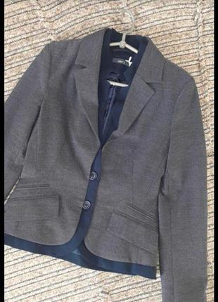 Новый оригинальный классический трикотажный  пиджак жакет jake's 42-44-46