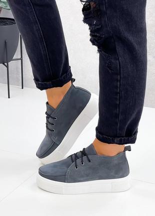 Туфлі крипери шкіряні