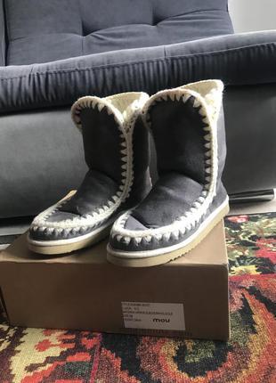 Угги mou валенки ботинки