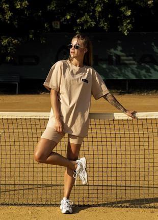 Женский костюм футболка + шорты comfort
