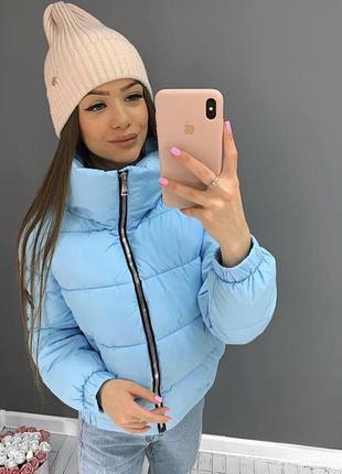Обалденные теплые куртки дутик пуфер зефирка в цветах