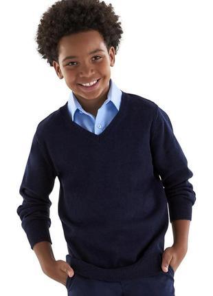 Новый детский свитер тёмно-синего цвета👨🎓 с замерами