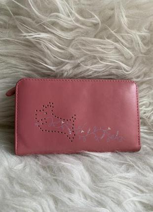Розовый кошелечек от radley