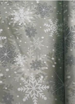 Скатерть новогодняя  200х 110 водоотталкивающая с тефлоновой пропиткой