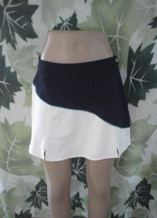 Италия итальянская спортивная юбка мини sergio tacchini