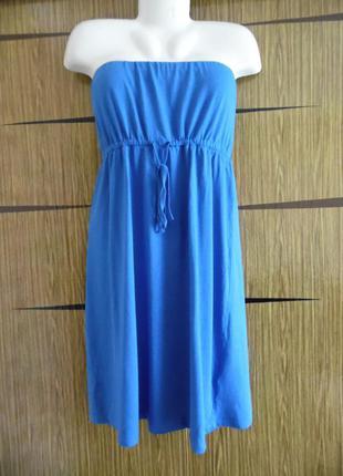 Платье сарафан new look размер 18(46)– идет на 52-52+.