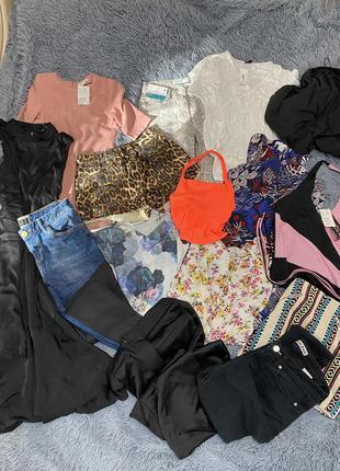 Большой пакет лот женской одежды xs-s размер