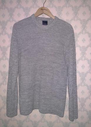 Мужской тёплый свитер джемпер кофта гольф пуловер h&m