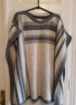 Теплое пончо marks&spencer , свитер