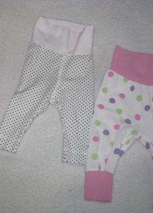 Комплект штанишек для девочки h&m