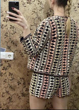Оригинальный костюм шорты жакет пиджак