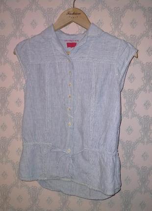 Женская льняная блуза безрукавка от levi's