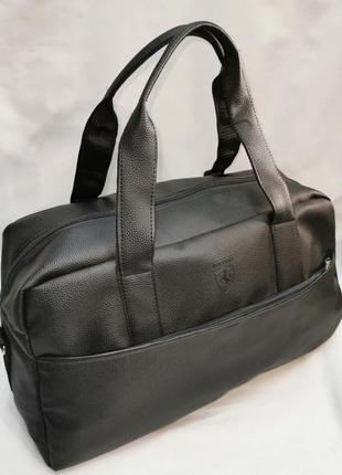 Шикарная новая сумка pu кожа / на фитнес / дорожная спортивная
