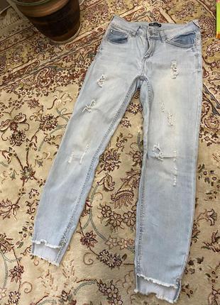 Рвані джинси скіні
