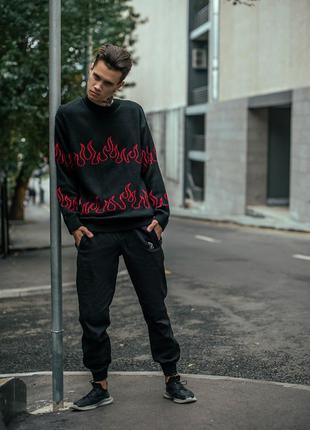 Мужской свитер .мужской вязанный свитер .свитер оверсайз мужской .