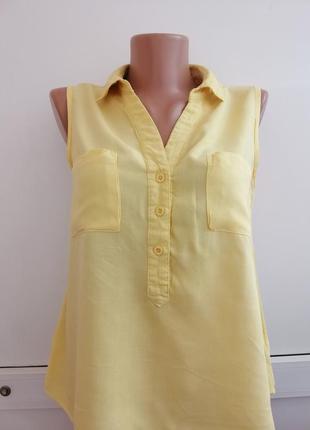 Блуза женская жёлтая