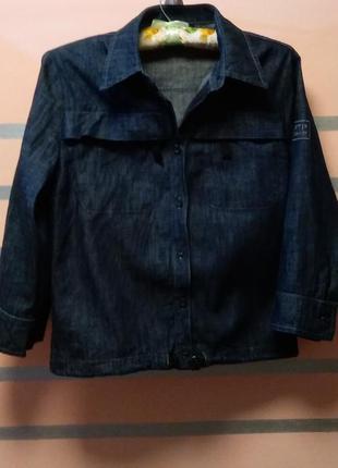 Джинсовая куртка пиджак рубашка freeman t porter