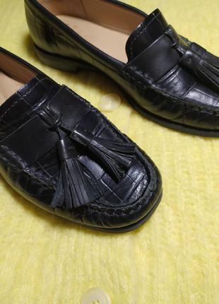 Лоферы туфли кожа john lewis р.36