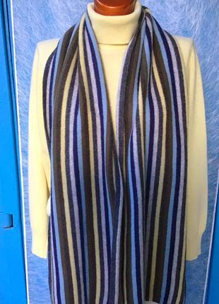 Мягкий в полоску шарф от gap
