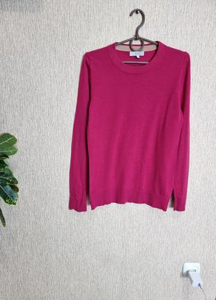 Красивый джемпер свитер hobbs, 100% мериносовая шерсть