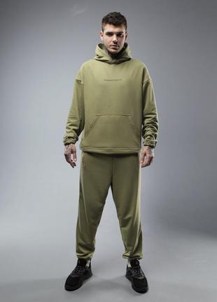 Спортивный качественный суэцкой костюм . костюм мужской худи и джоггеры