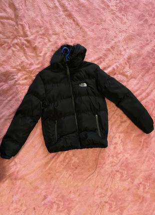 Шикарная тёплая куртка женская the north face