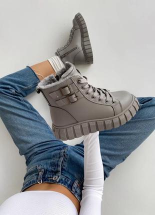 Модель 2021 теплые ботинки