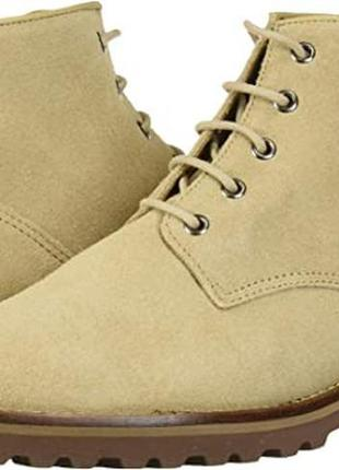 Актуальные ботинки боты driver club usa us8,5 eu39-40 замша-кожа