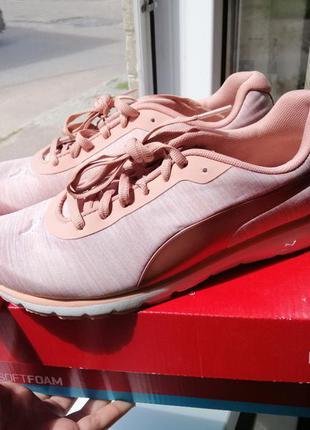 Кроссовки женские розовые белые оригинал